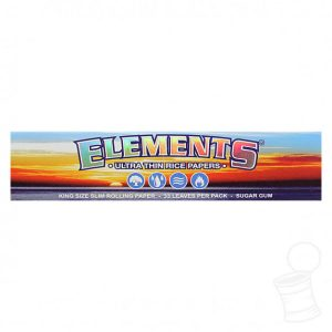 Elements Ultimate Thin Rice Rolling Papers King Size Canada Character Co.