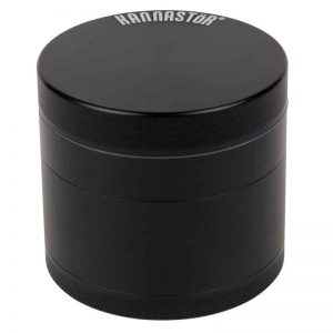 Kannastor Solid Body 4-Piece Grinder Black Canada Character Co.