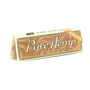 Pure Hemp Unbleached Rolling Papers 1 1/4 Canada Character Co.