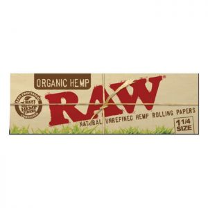 RAW Organic Hemp Natural Unrefined Rolling Papers Canada Character Co.