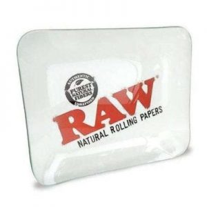 RAW Glass Large Rolling Tray canada Character Co.