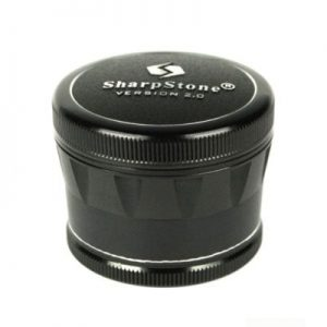 SharpStone 4-Piece V.2 Grinder 2.2 Black