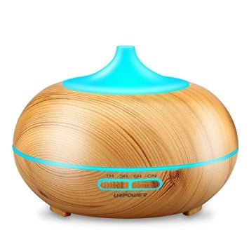 Soicare Aroma Essential Oil Diffuser Wood Grain