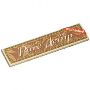 Pure Hemp Unbleached Rolling Papers KSS