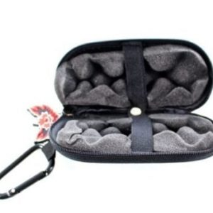 Red Eye Glass Hand Pipe Hard Case 5- Black(1)