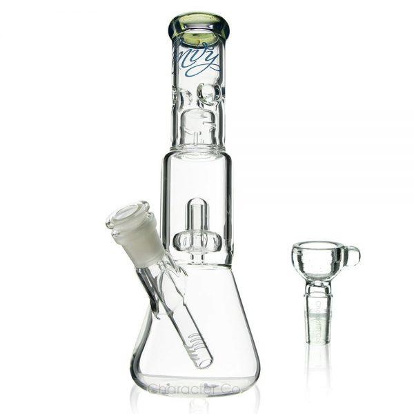 Envy Glass Green Mini Shower Beaker Canada Character Co.