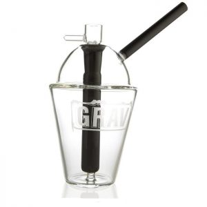 Grav Labs Black Flower Cup Canada Character Co.