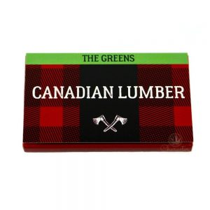 Canadian Lumber The Greens Rolling Papers Canada Character Co.