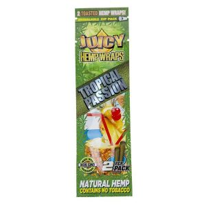 Juicy Jay Tropical Passion Hemp Wraps