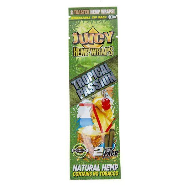 Juicy Jay Tropical Passion Hemp Wraps