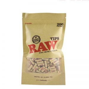 RAW Natural Unrefined Rolling Tips