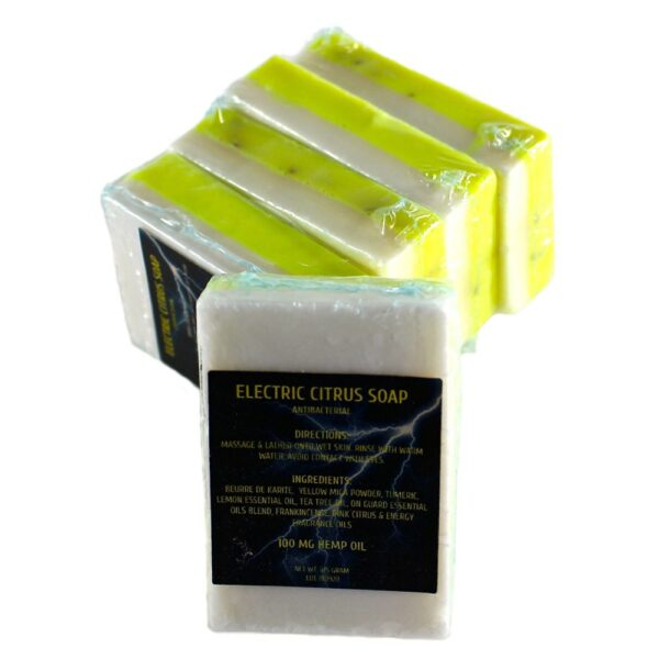 Electric Citrus Antibacterial Soap