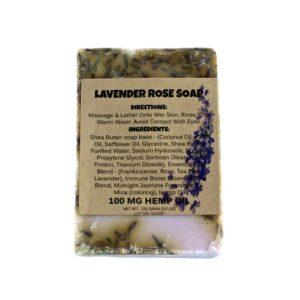 Lavender Rose Soap Bar