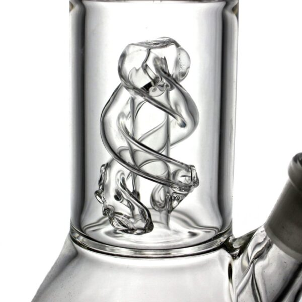 Envy Glass Clear Helix Beaker Bong