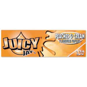 Juicy Jay Peaches and Cream Rolling Paper