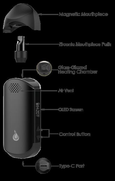 Cap Pro Digital Vaporizer