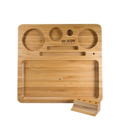 RAW Natural Bamboo Rolling Tray